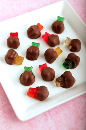 Aunt Flo's Chocolate Dipped Gummy Bears